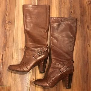 Frye Leather Knee High Boots